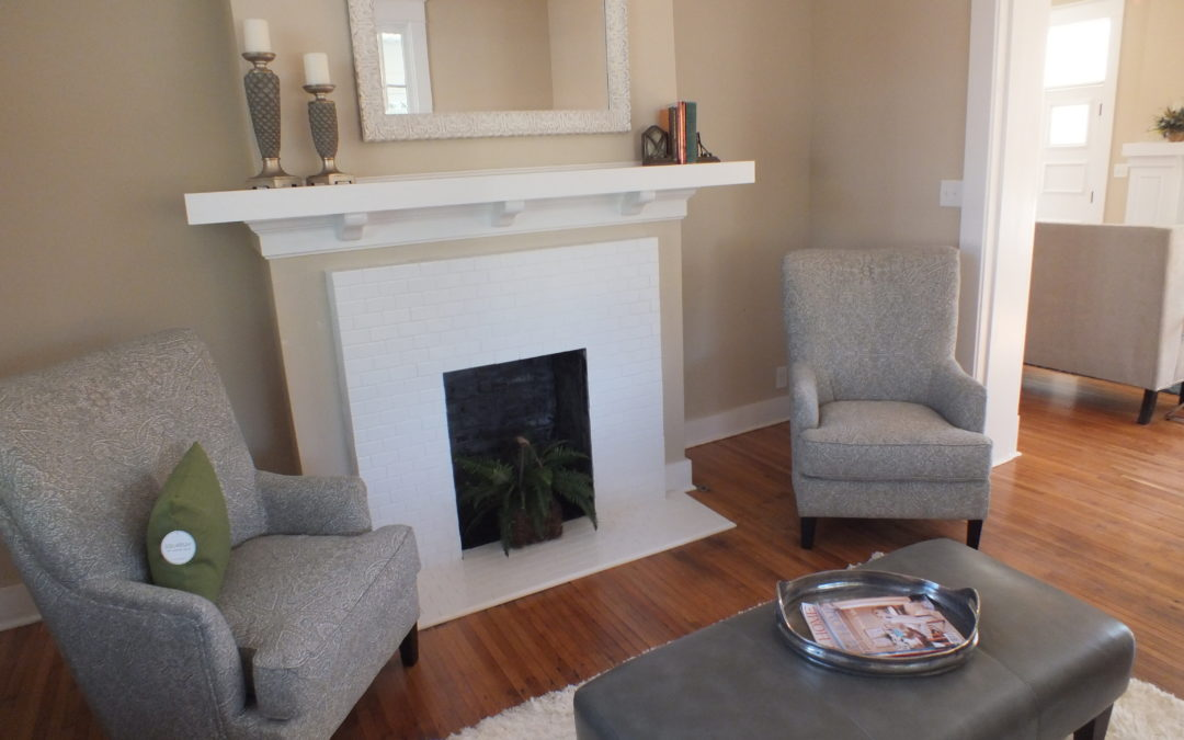 Flipping Central Arkansas: Fireplace Remodel