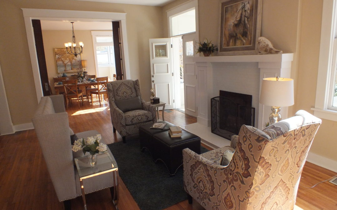 Flipping in Central Arkansas: Beautifully Staged Home