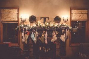 Christmas at Home: Fireplace Stockings